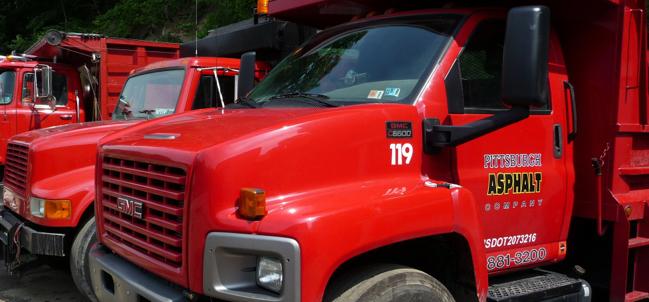 Pittsburgh Asphalt Company Trucks